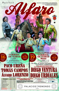 Cartel Toros Alfaro 2018