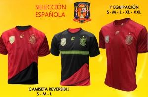Camiseta de la Real Federación Española de fútbol