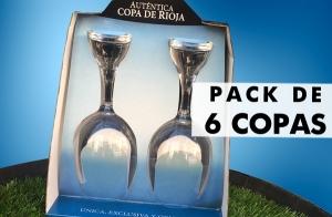 Pack de 6 Copas de Rioja