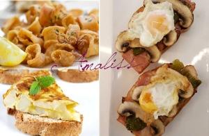 Tortilla casera y exquisitas tapas de Amaliss