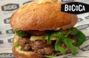 Delicioso menú de hamburguesa para 2, en Bococa