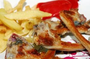 Completo menú riojano, en Restaurante Cecilio