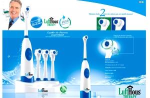 Cepillo de dientes eléctrico LuftHous
