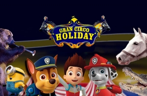 Gran Circo Holiday: 4, 5, 9, 10, 11 y 12 de Junio
