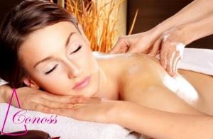 Masaje relajante corporal con aromaterapia