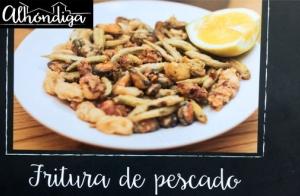 Ración de fritura de Pescaditos + botella DO Rioja