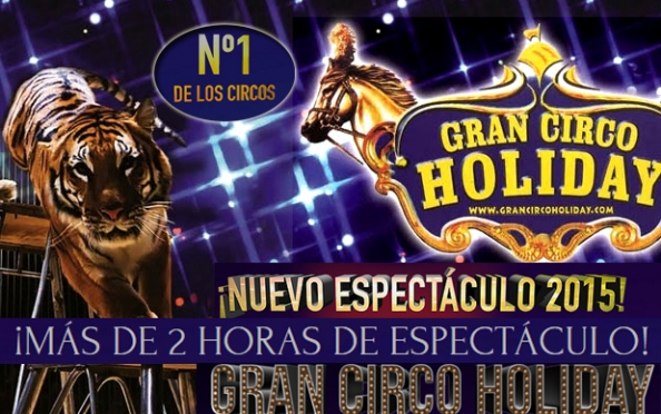 7 de junio, Gran Circo Holiday en Logroño