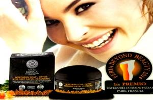 Tratamiento facial completo con jabón negro