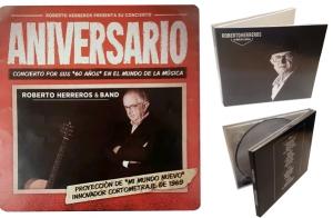 Roberto Herreros presenta su concierto Aniversario