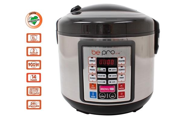 Robot de cocina 5l be pro por oferta con for Robot de cocina la razon
