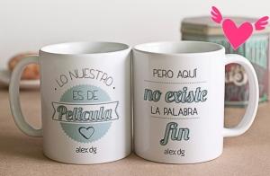En San Valentín regala una taza personalizada
